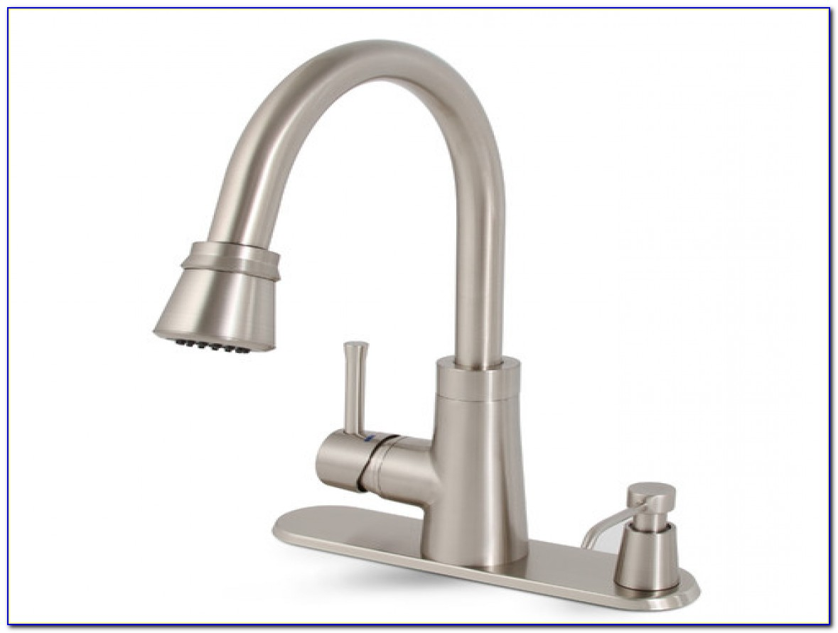 Delta Kitchen Faucet With Soap Dispenser
