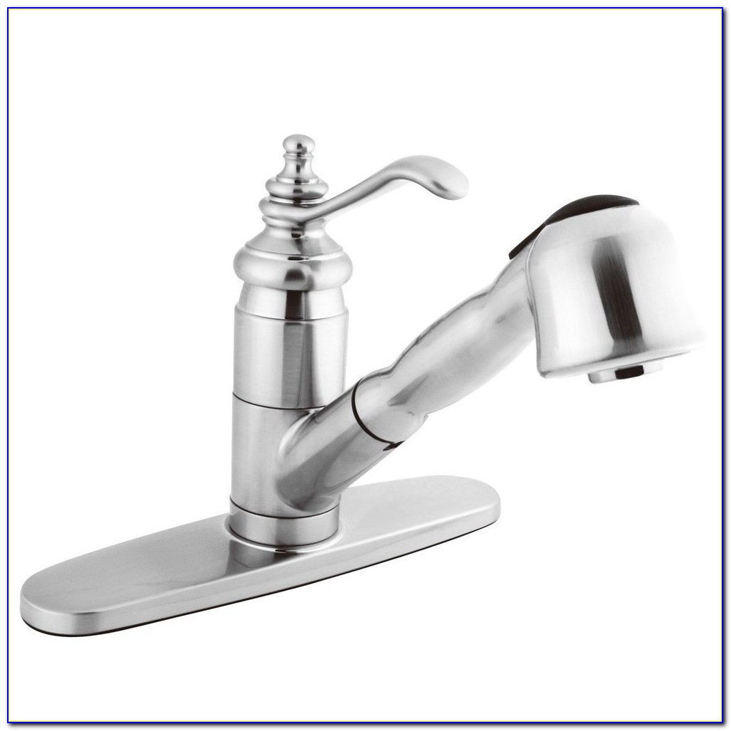 Delta Kitchen Faucets With Pull Out Sprayer