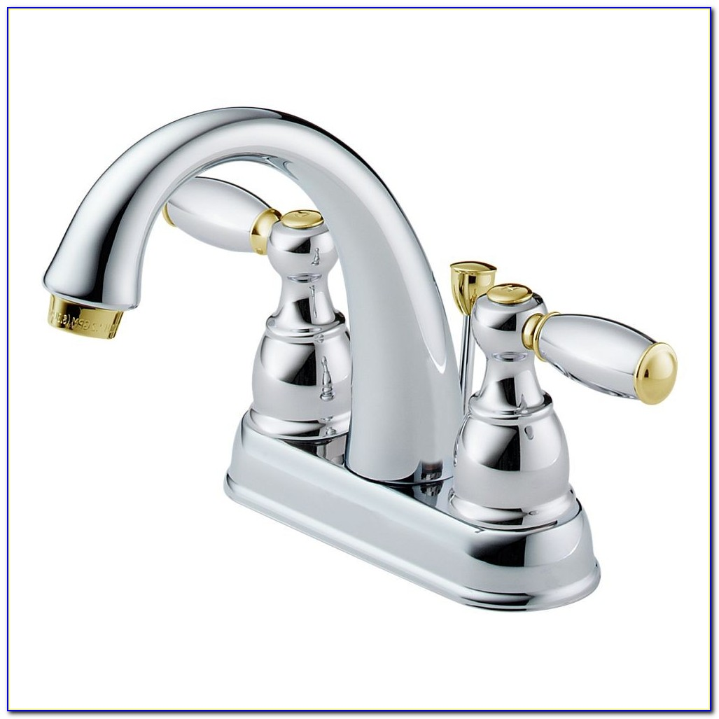 Delta Lahara Two Handle Widespread Lavatory Faucet