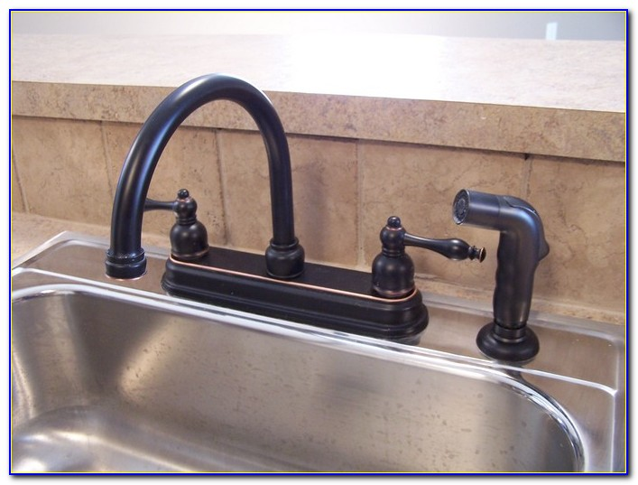 Delta Oil Rubbed Bronze Pull Down Kitchen Faucet