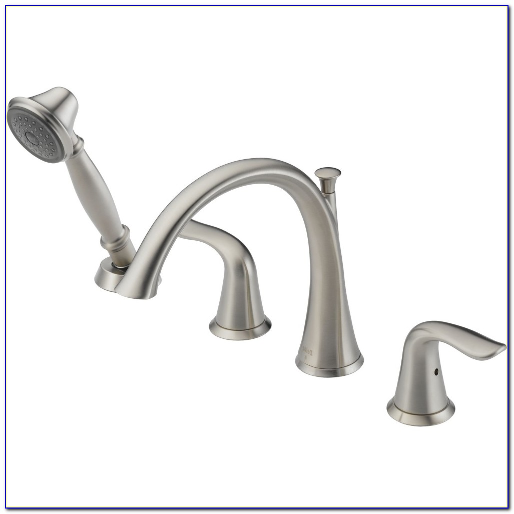Delta Roman Tub Faucets With Handheld Shower