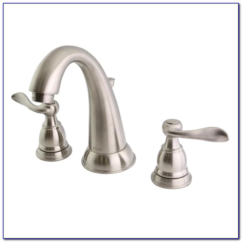 Delta Satin Nickel Bathroom Faucets