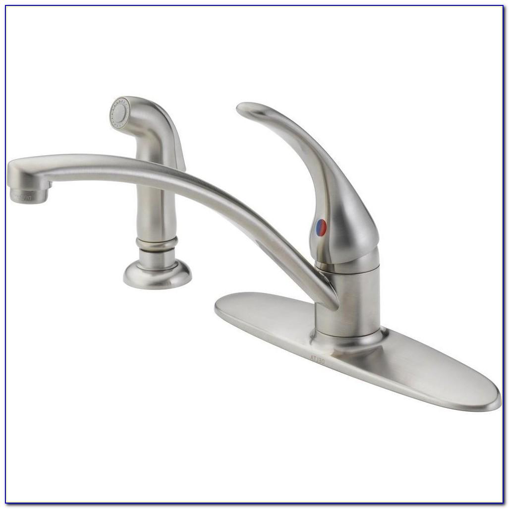 Delta Foundations Single Handle Standard Kitchen Faucet With Side Delta Single Handle Kitchen Faucet Repair Delta Single Handle Kitchen Faucet Repair