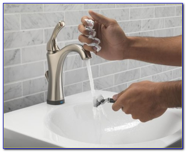 Delta Touch Faucet No Blue Light