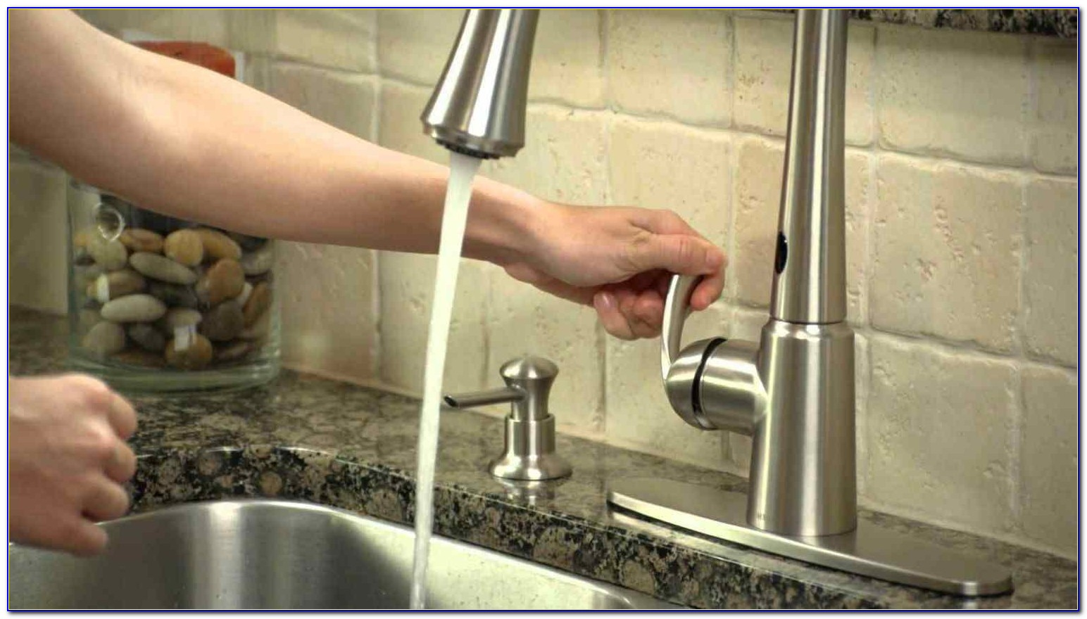 Delta Touch Faucet No Hot Water