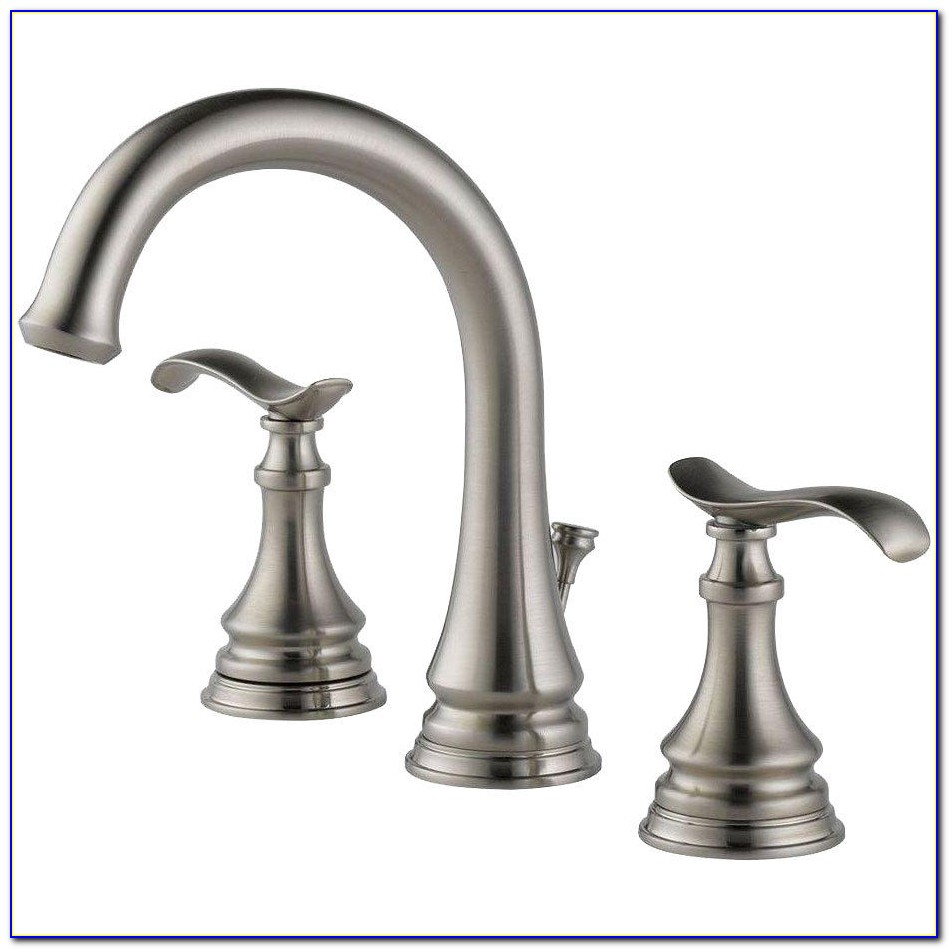 Delta Windemere Brushed Nickel Bathroom Faucet