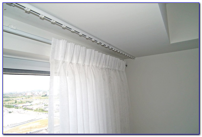 Drapery Track Ceiling Mount