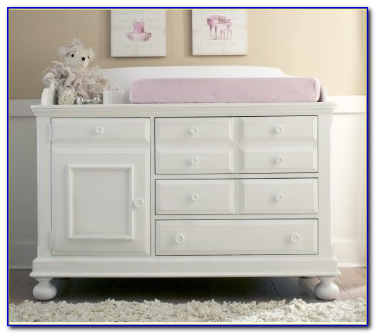 Dresser Changing Table Combo With Hutch