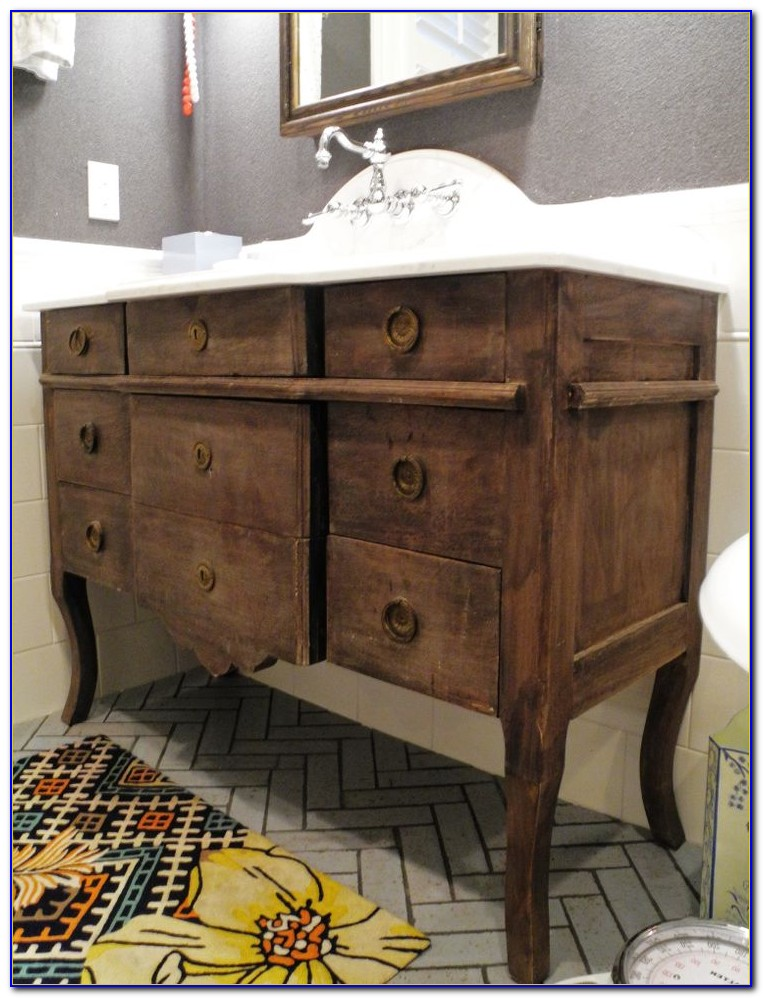 Dresser Vanity For Bathroom