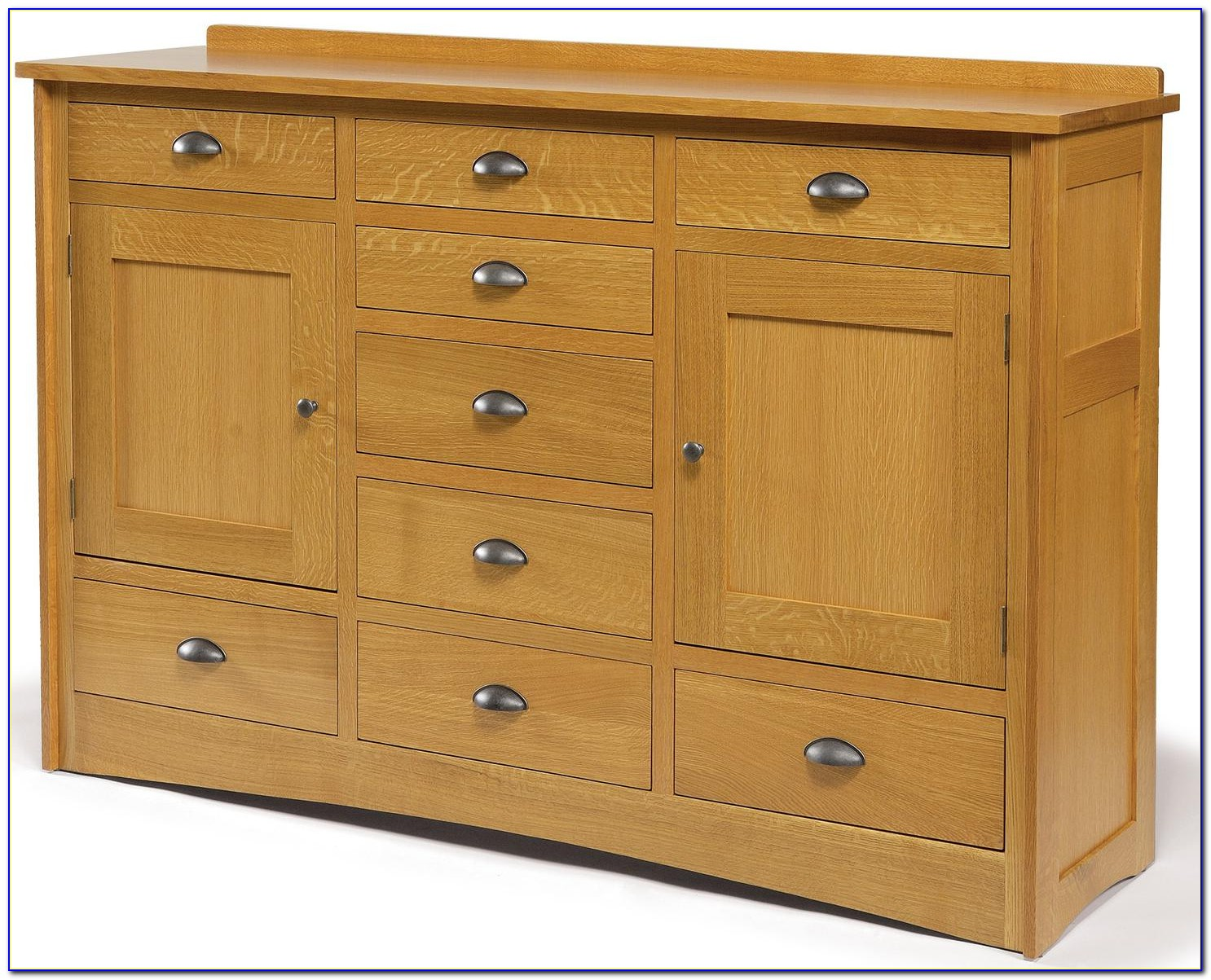 Dresser With Drawers And Doors