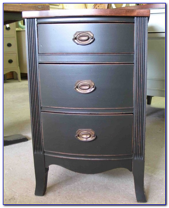 Dresser With Many Small Drawers
