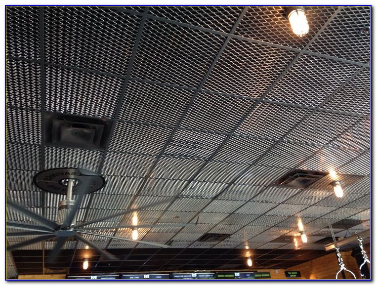 Drop Ceiling Faux Tin Tiles