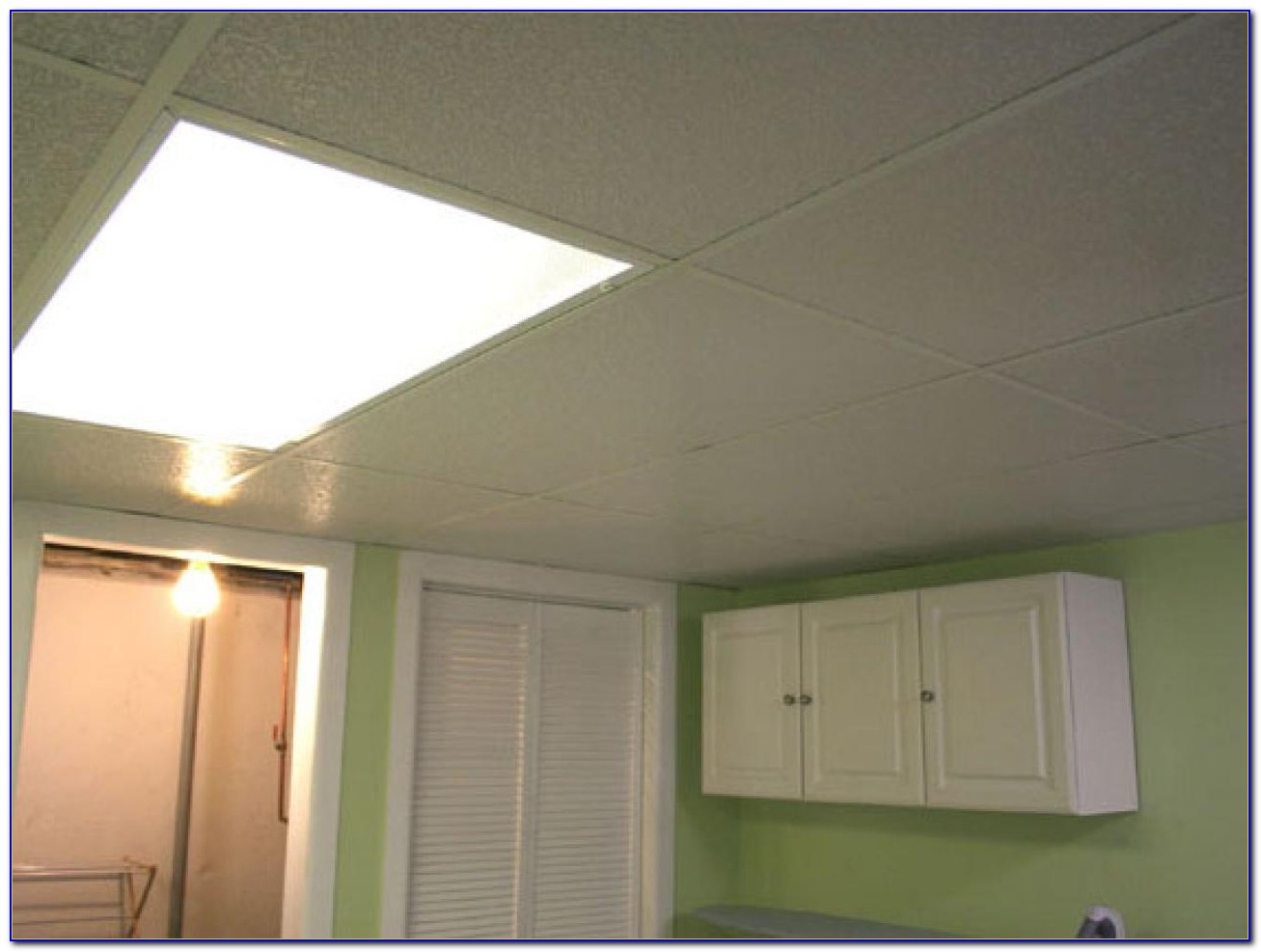 Drop Ceiling Panels For Basement