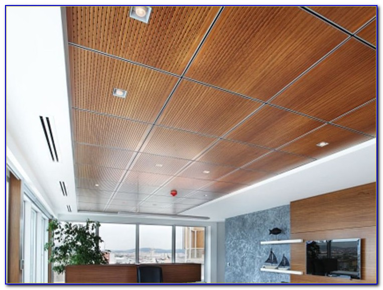 Drop In Ceiling Tile Ideas
