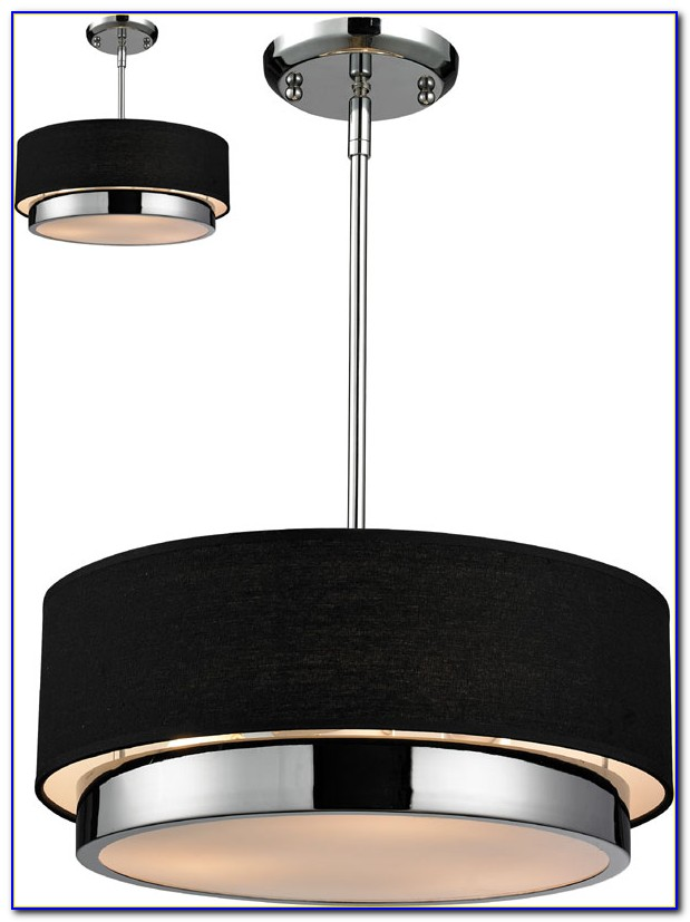 Drum Shade Ceiling Light Fixtures