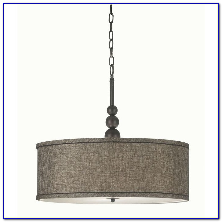 Drum Style Ceiling Light Fixtures