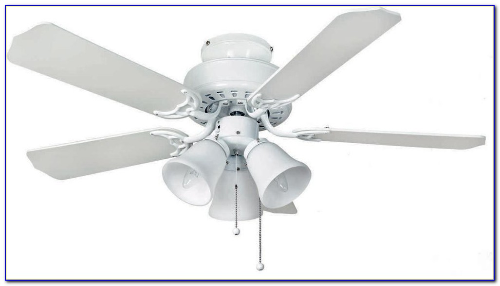 Fantasia Neptune Ceiling Fan With Light Brushed Nickel Remote Included