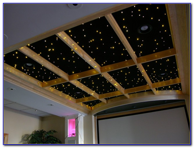 Fiber Optic Led Star Ceiling