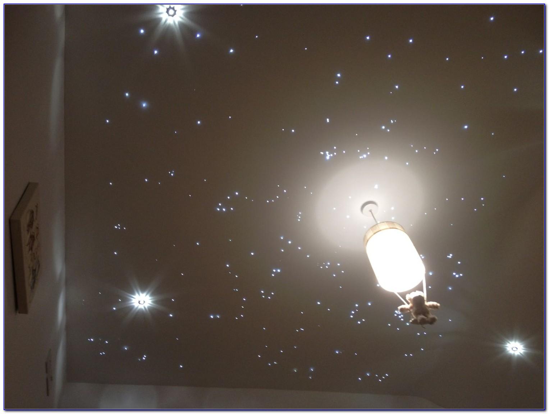 Fiber Optic Starfield Ceiling Diy