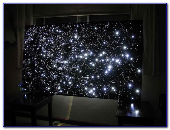 Fiber Optic Starfield Ceiling