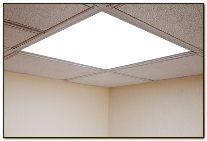 Fluorescent Light Ceiling Panels