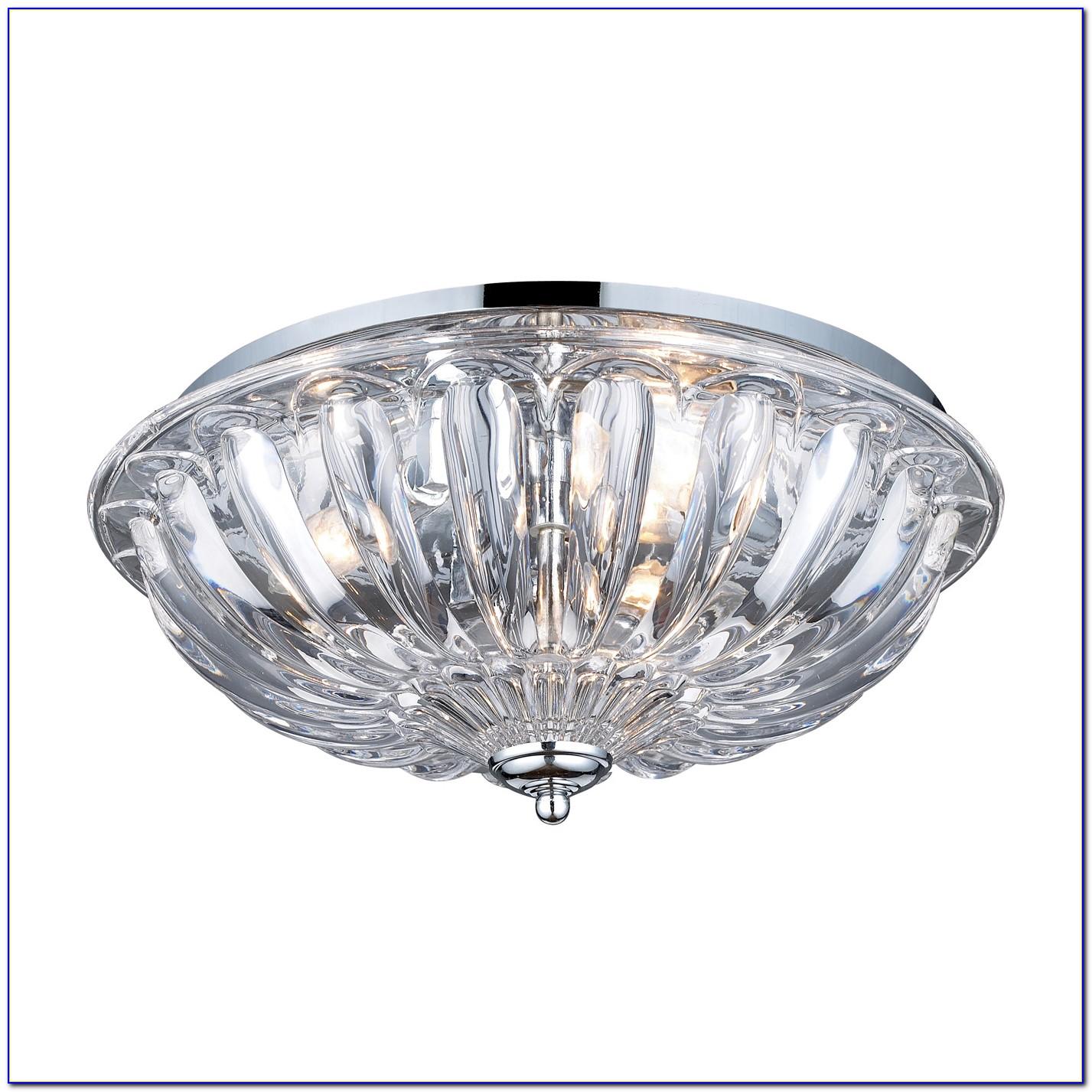 Flush Mount Ceiling Lights Crystal