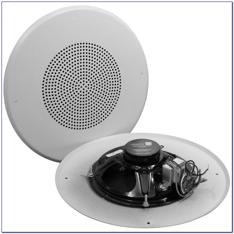 Flush Mounted Ceiling Speakers