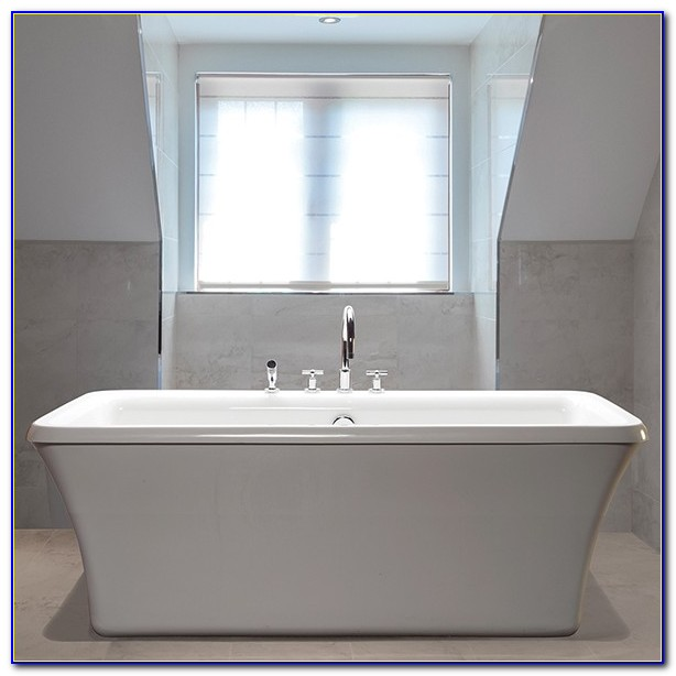 Freestanding Tub With Faucet Attached