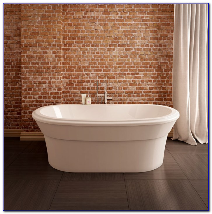 Freestanding Tub With Faucet Drillings