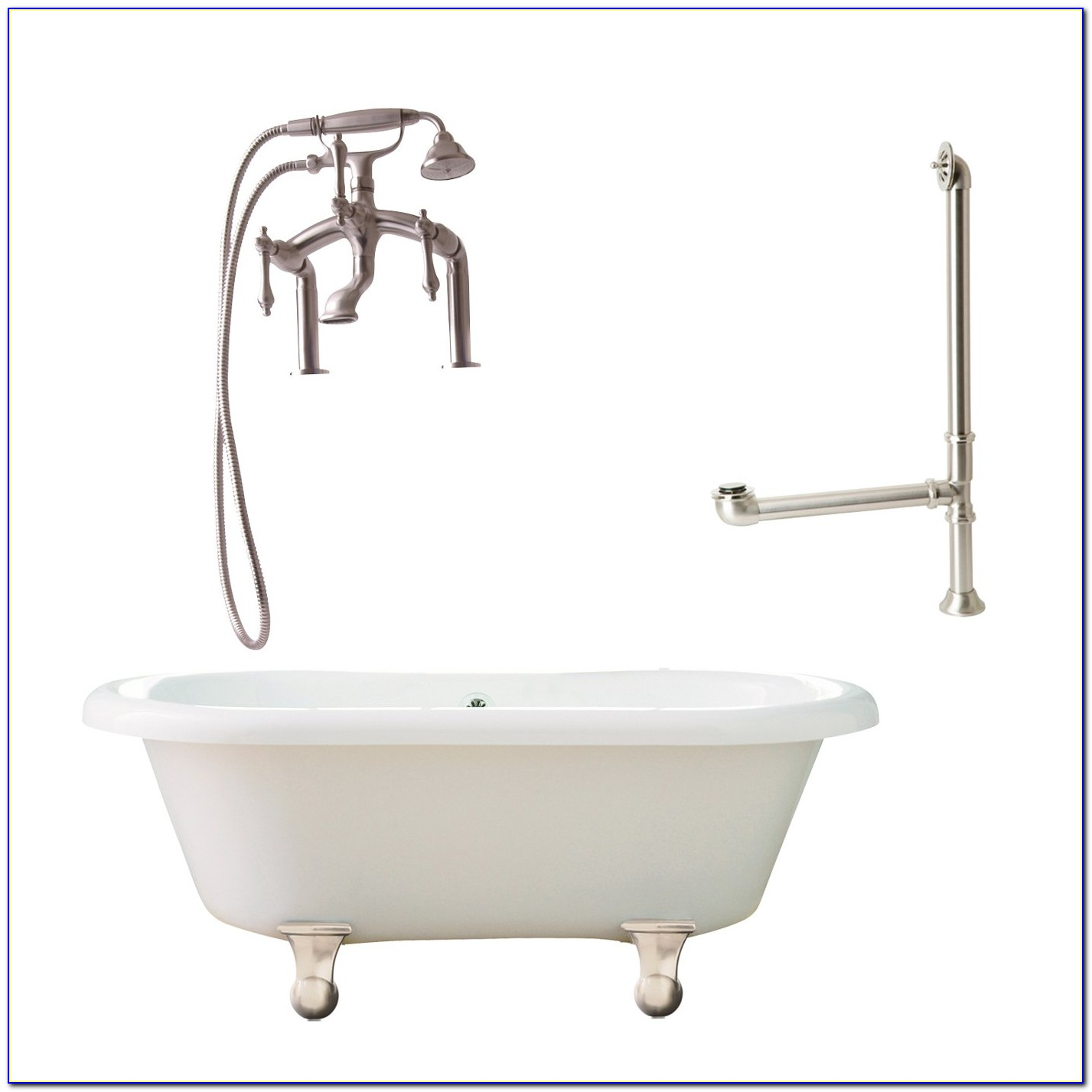 Freestanding Tub With Faucet Included