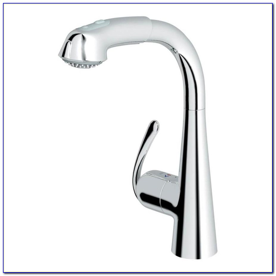 Grohe Ladylux Pull Out Kitchen Faucet