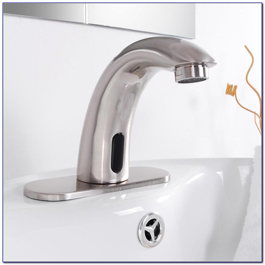 Hands Free Bath Faucet