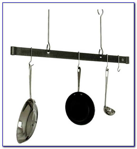 Hanging Kitchen Pot Rack Ceiling