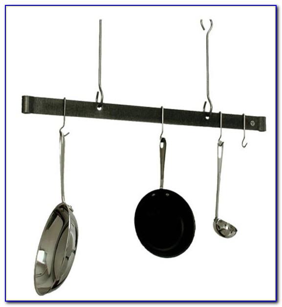 Hanging Kitchen Pot Rack Ceiling