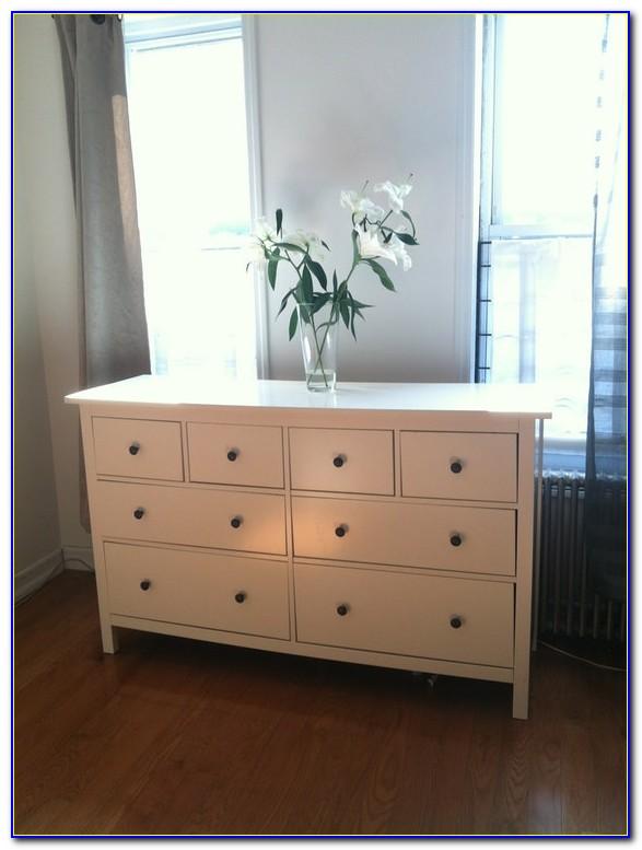 Hemnes 8 Drawer Dresser White