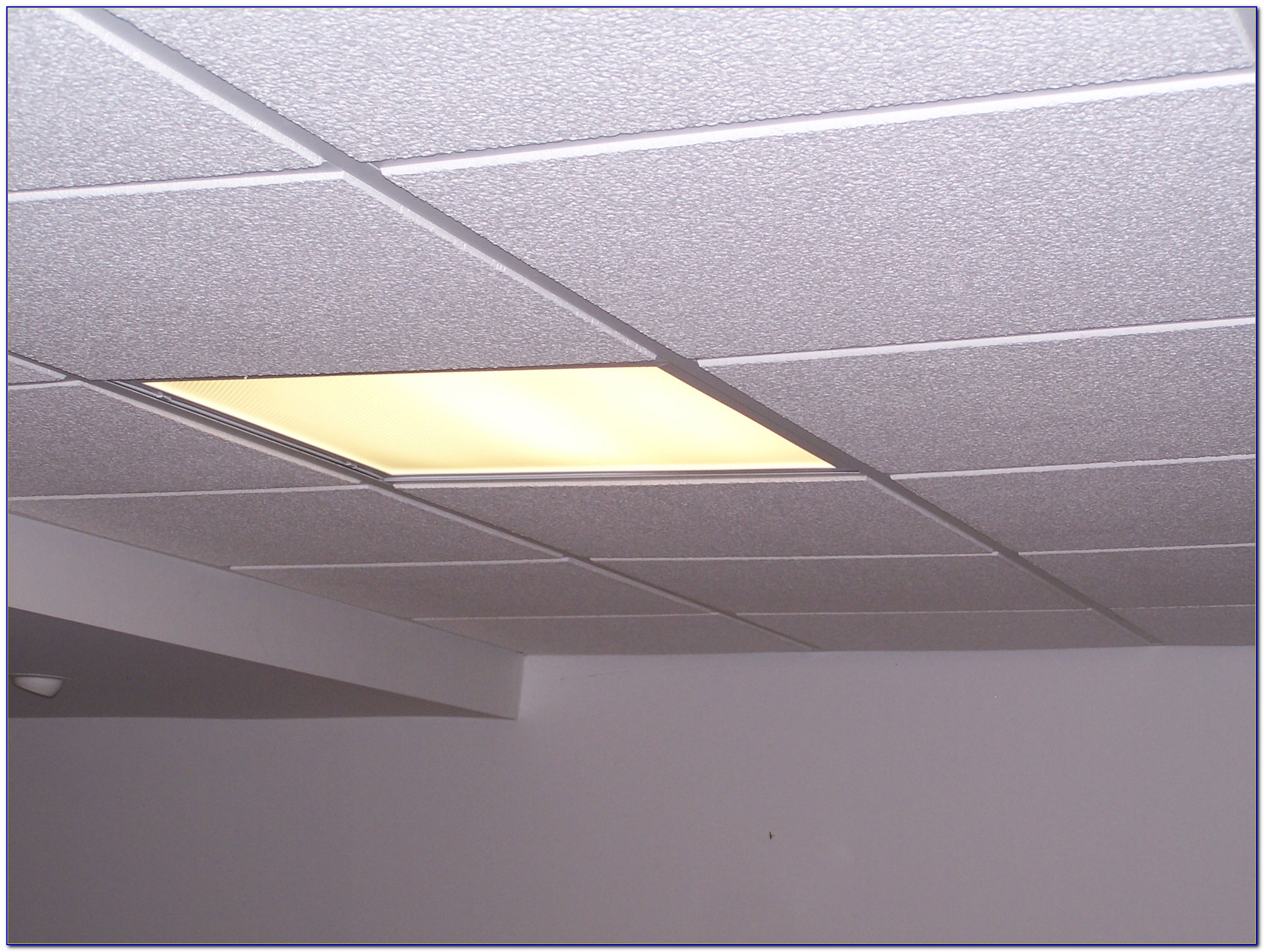 How To Cut Recessed Drop Ceiling Tiles