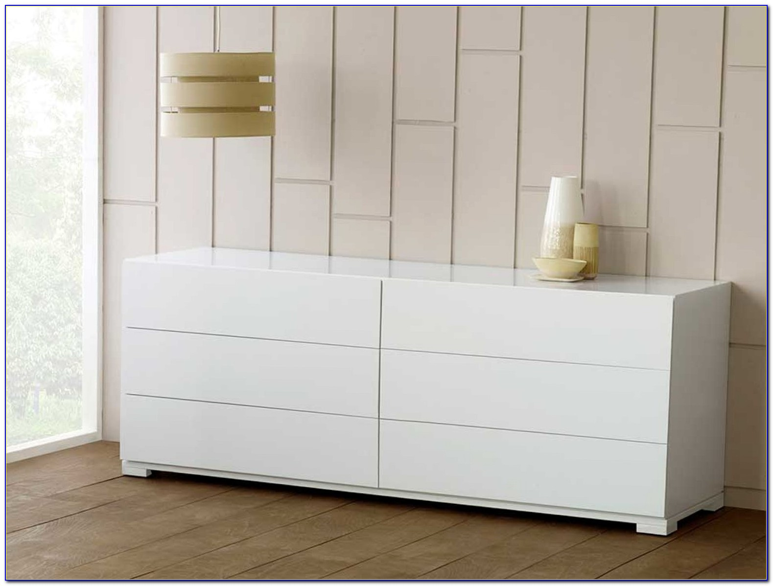 White 6 Drawer Dresser Target