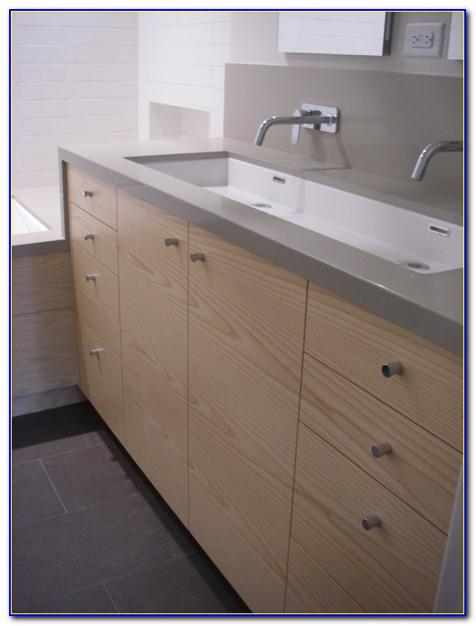 Ikea Braviken Double Faucet Trough Sink