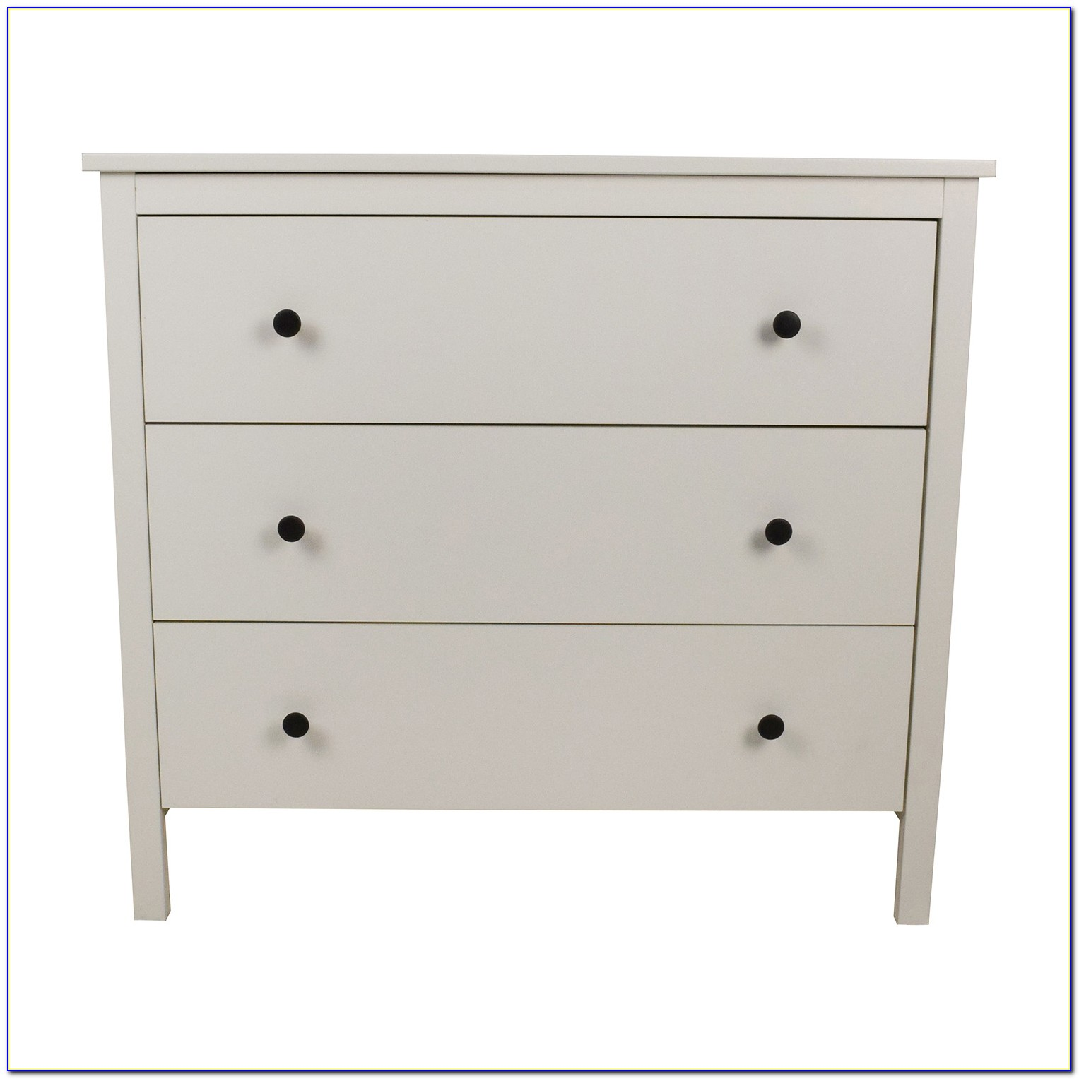 Ikea Hemnes 3 Drawer Chest White