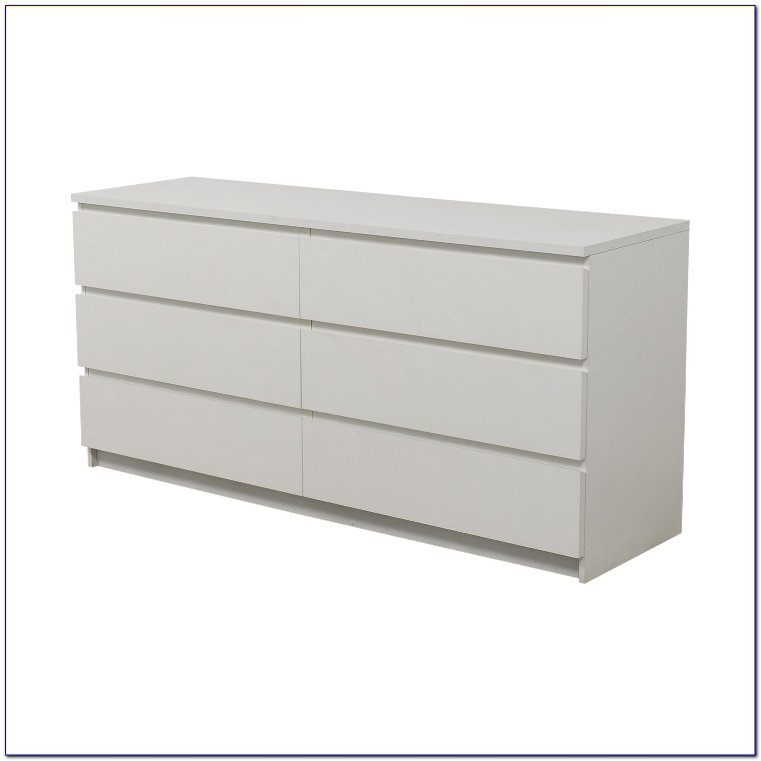 Ikea Hemnes 6 Drawer Dresser White