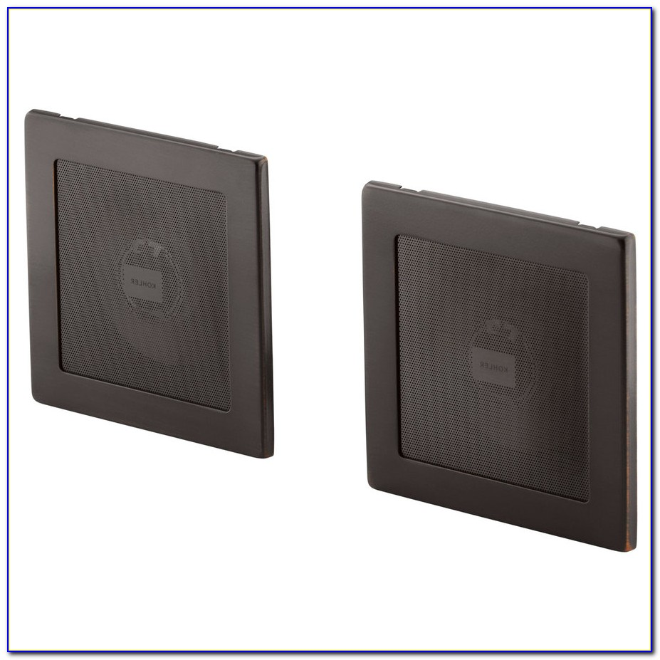 In Ceiling Speakers With Square Grills