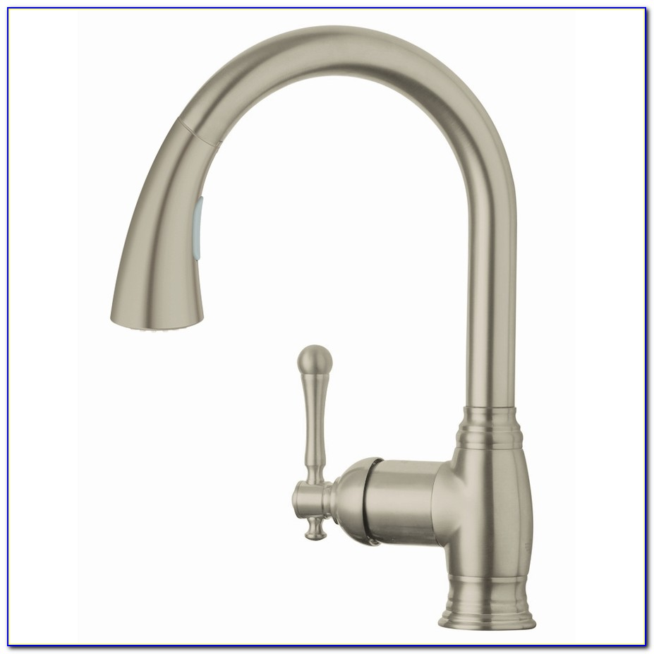 Kitchen Faucet Brushed Nickel Pull Down