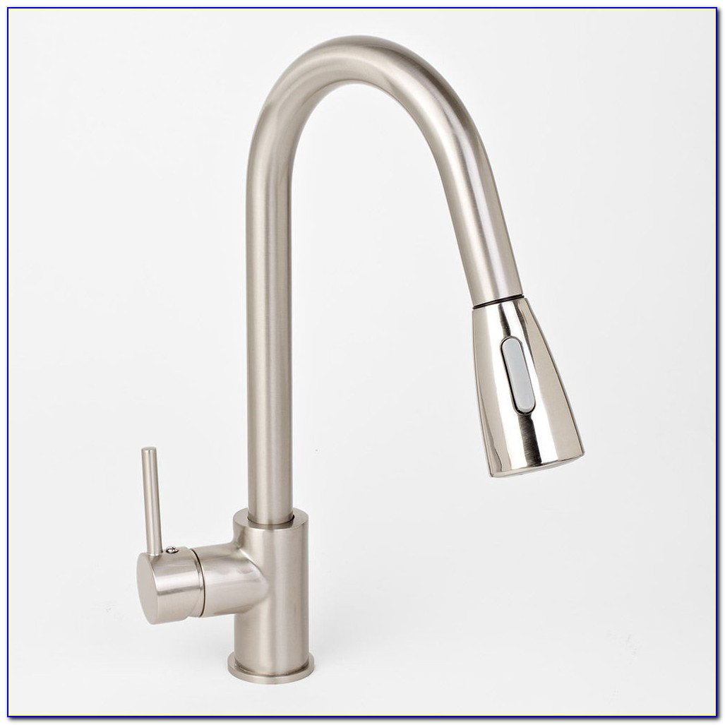 Kitchen Faucet Brushed Nickel Single Handle