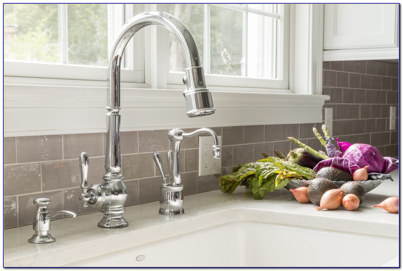 Kitchen Faucet Soap Dispenser Placement