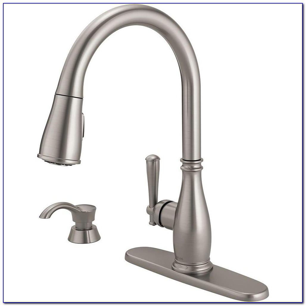 Delta Kitchen Faucets With Soap Dispenser Delta Kitchen Faucets With Soap Dispenser Delta Charmaine Single Handle Pull Down Sprayer Kitchen Faucet 1000 X 1000
