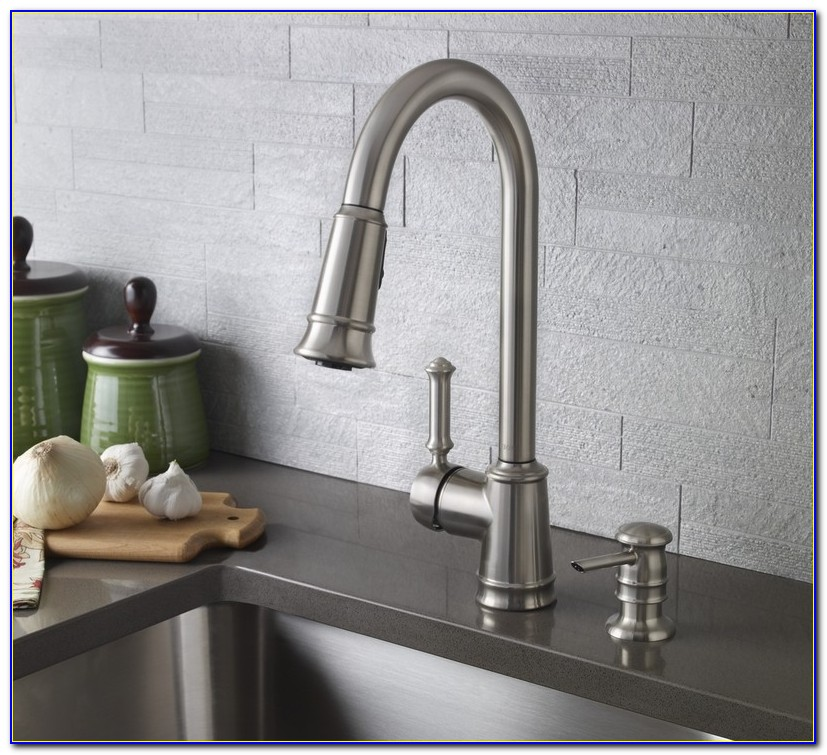 Kitchen Faucets With Soap Dispenser