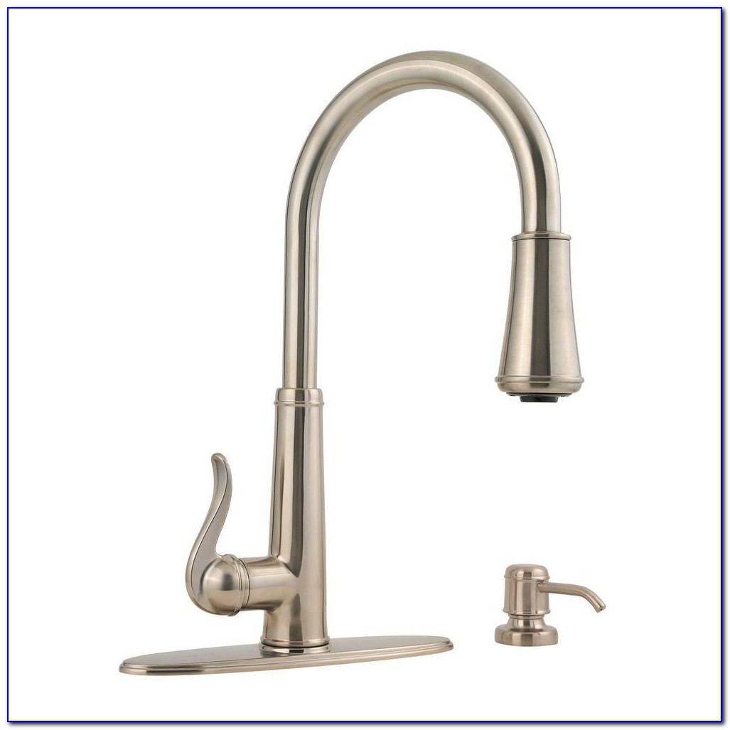 Kitchen Sink Faucet With Pull Down Sprayer