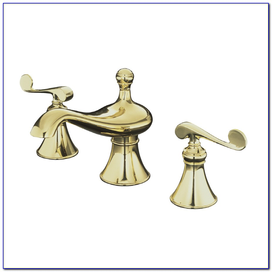 Kohler Brass Bathroom Sink Faucet