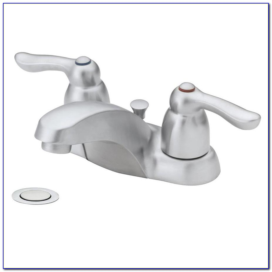 Kohler Brushed Chrome Bathroom Faucets