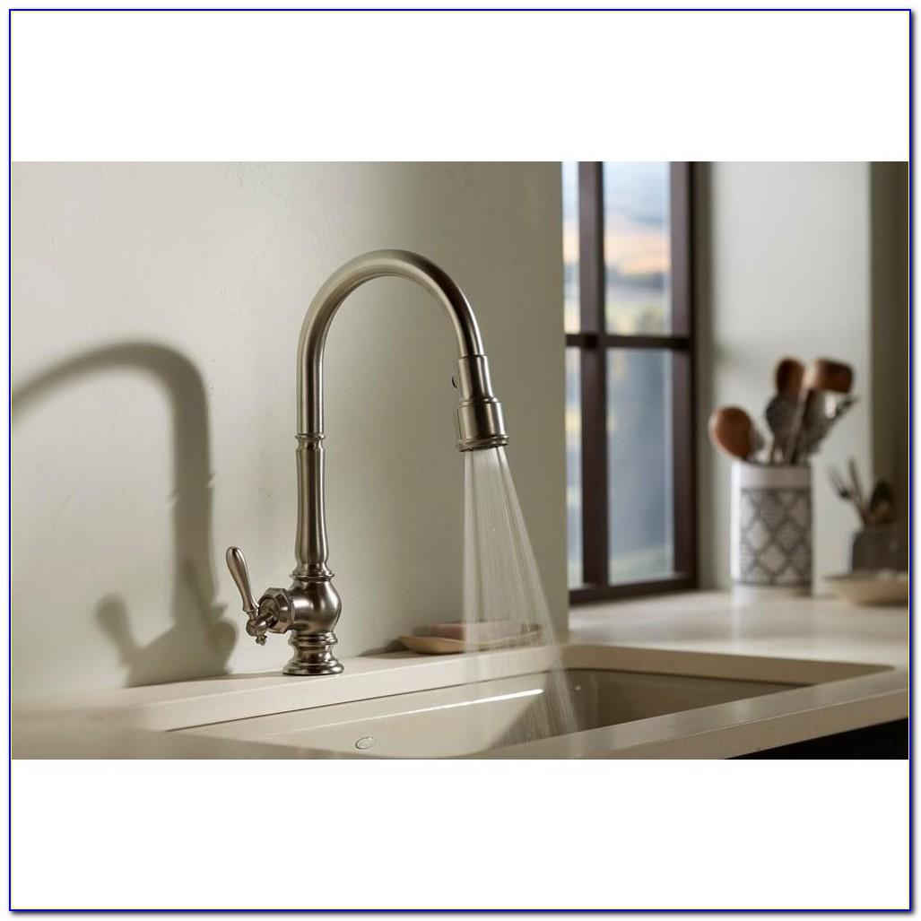 Kohler Pull Down Kitchen Faucet Installation